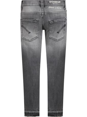 Dondup Grey ''mus'' Jeans For Boy