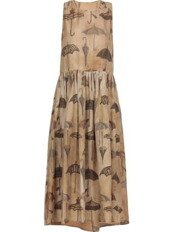 Uma Wang Printed Dress