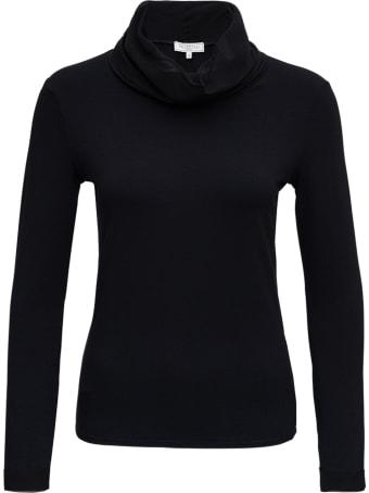 Antonelli Black Modal And Cashmere Sweater