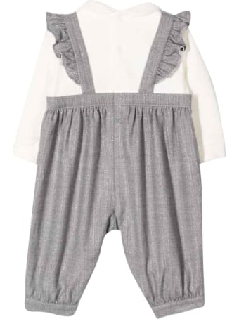 Il Gufo Two-tone Jumpsuit With Print