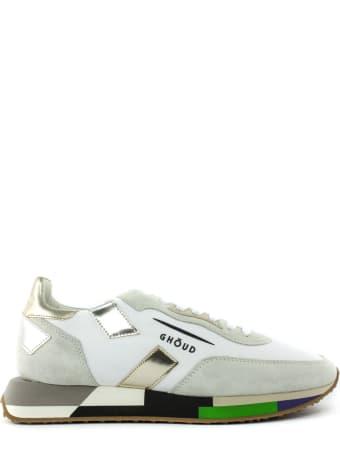 GHOUD White Nylon Sneakers