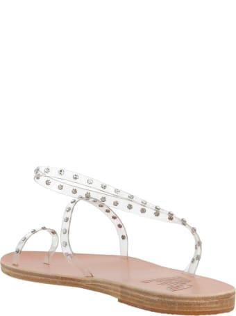 Ancient Greek Sandals 'apli Eleftheria Crystals' Shoes