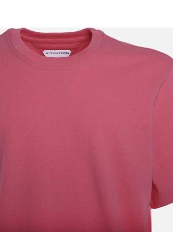 Bottega Veneta Cotton Jersey T-shirt With Tone-on-tone Logo