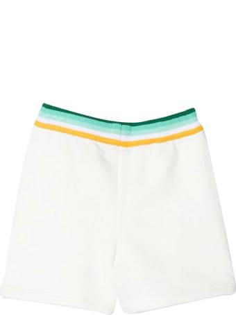Fendi White Shorts