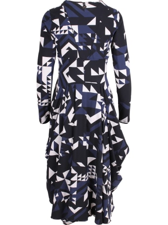 High Nylon Midi Dress
