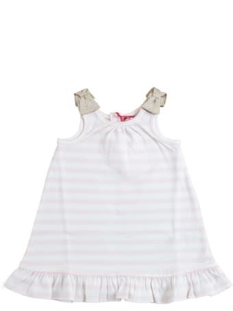 Lili Gaufrette Newborn Dress With Ruffles