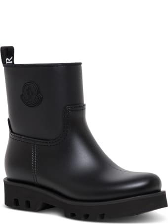 Moncler Ginette Rain Boots With Logo