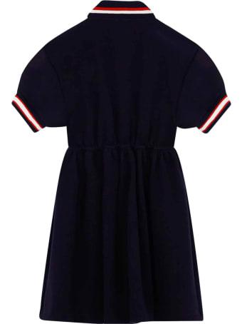 Dolce & Gabbana Blue Dress Polo Model