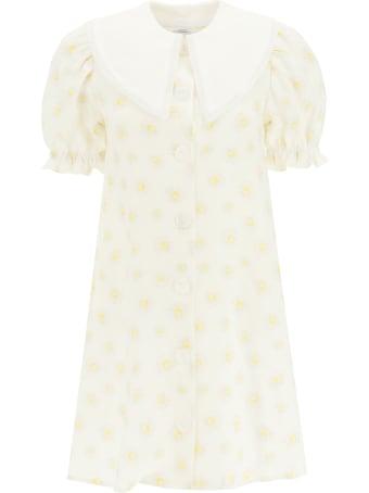 Sleeper Marie Daisy Print Mini Dress