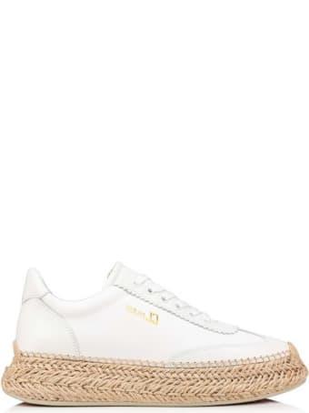 Christian Louboutin White Leather Espasneak