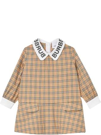Burberry Check Newborn Dress