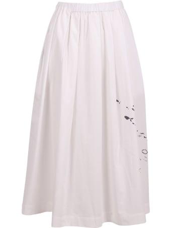 Yoshi Kondo 'flow' Cotton Skirt