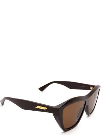 Bottega Veneta Bottega Veneta Bv1092s Brown Sunglasses