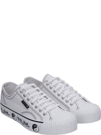 Superga Sneakers In White Canvas