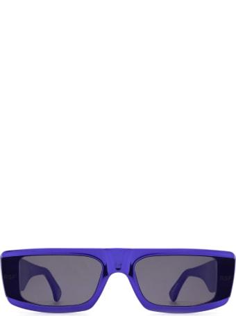 RETROSUPERFUTURE Retrosuperfuture Issimo Chrome Blue Sunglasses
