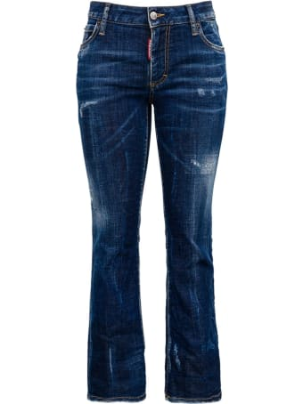 Dsquared2 Cropped Denim Jeans