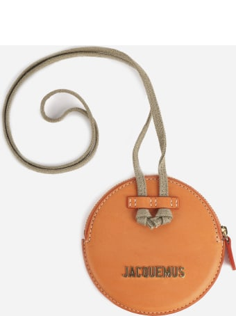 Jacquemus Coin Purse In Leather With Logo