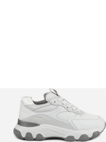 Hogan Hyperactive Sneakers In Leather