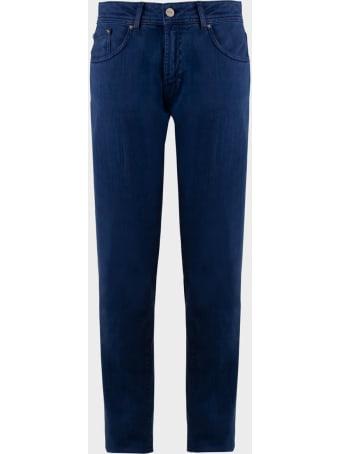 Sartorio Napoli Posillipo Pants - Blue