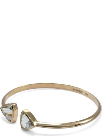 Lo Spazio Jewelry Lo Spazio Aqua Marine Bangle