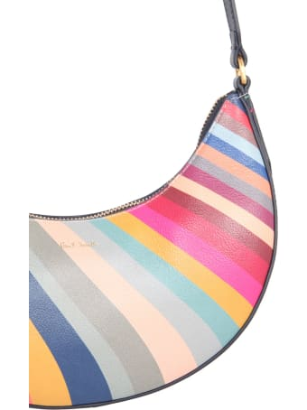 Paul Smith Crescent Bag With Swirl Print