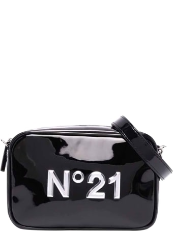 N.21 Black N ° 21 Kids Shoulder Bag