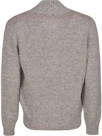 Brunello Cucinelli Turtleneck Zipped Cardigan