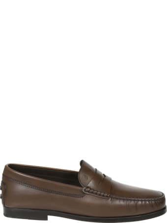 Tod's Logo Stamp Loafers