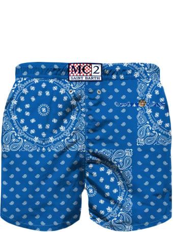 MC2 Saint Barth Bluette Bandana Boy Swimsuit