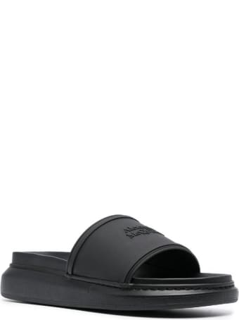 Alexander McQueen Rubber Upper And Sole Sandal Hybrid