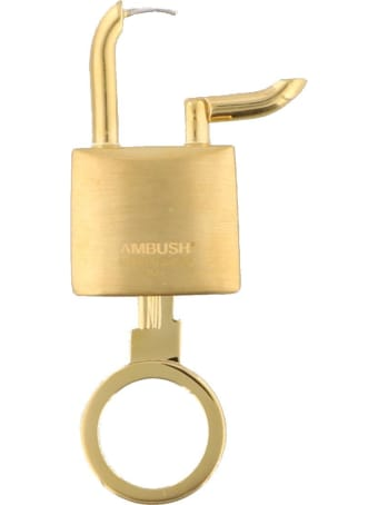 AMBUSH Lock Key Earrings