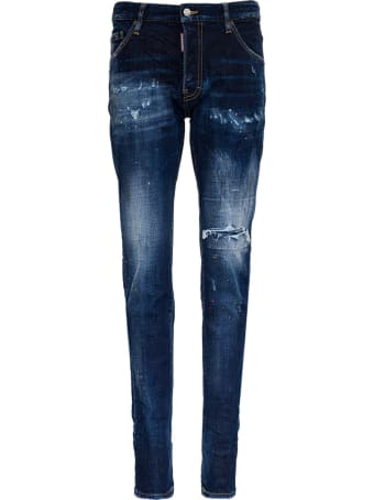 Dsquared2 Cool Guy Jeans In Washed Denim