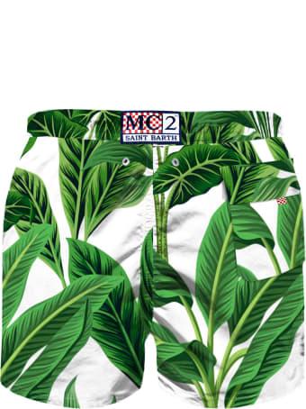 MC2 Saint Barth Tropical  Print Boy Swim Shorts