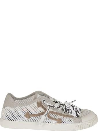 Off-White New Low Vulcanized Meshnet Sneakers