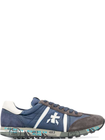 Premiata Blue Lucy Sneakers