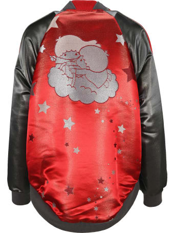 Undercover Jun Takahashi Undercover Graphic-print Panelled Bomber Jacket