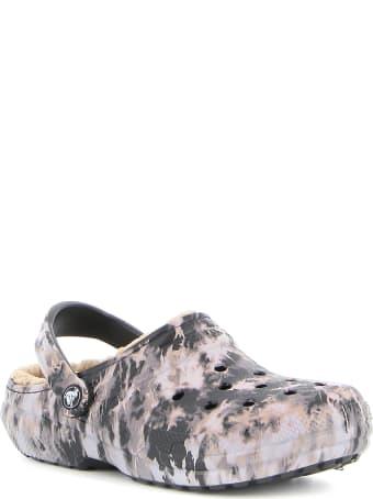 Crocs Classic Lined Bleach Dye Clog