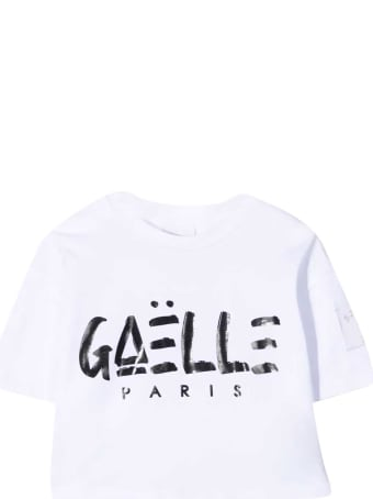 Gaelle Bonheur Crop T-shirt With Print