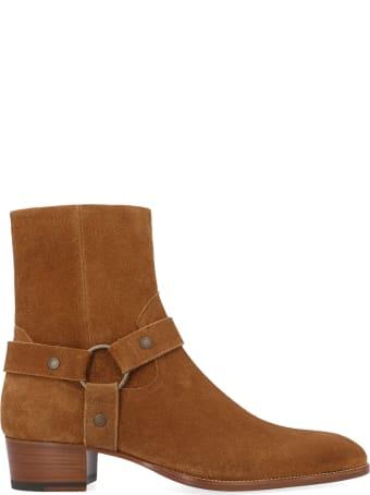 Saint Laurent 'wyatt Harness' Shoes