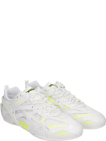 Balenciaga Closed Sneakers In White Synthetic Fibers