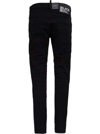 Dsquared2 Five Pockets Black Denim Jeans