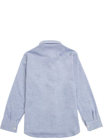 Il Gufo Light Blue Organic Cotton Shirt