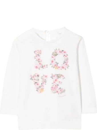 Monnalisa White Girl T-shirt