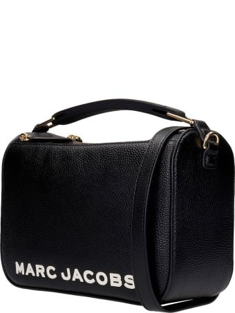 Marc Jacobs Shoulder Bag In Black Leather