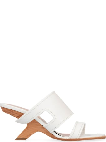 Alexander McQueen Leather Mules