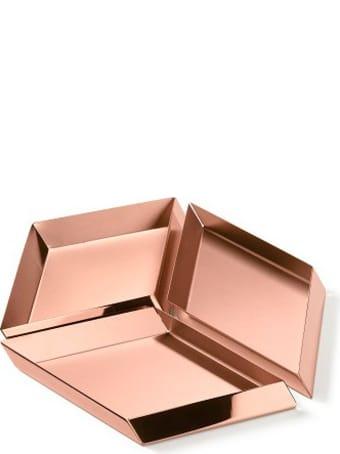 Ghidini 1961 Axonometry - Large Cube Rose Gold