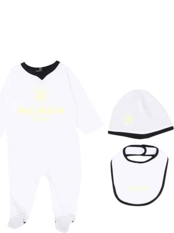Balmain White Newborn Set