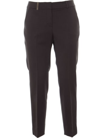 Peserico Concealed Trousers