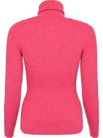Moncler Ribbed Knit Turtleneck Pullover