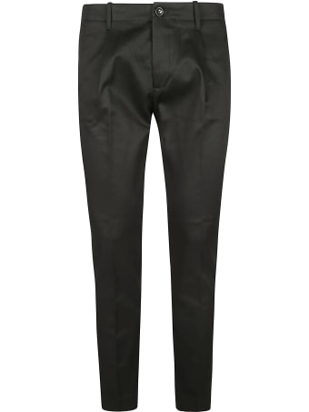 Nine in the Morning Cropped Plain Trousers